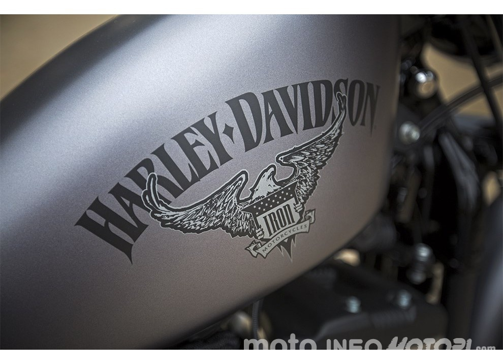 Harley-Davidson Sportster Iron 883 2016 - Foto 10 di 17
