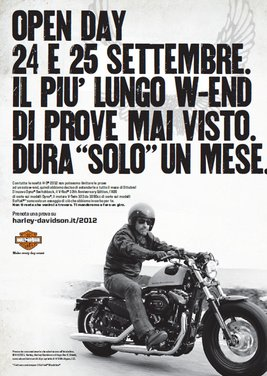 Harley Davidson: Open Day nel week end del 24 e 25 settembre - Foto 2 di 17