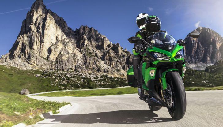 Nuova Kawasaki Z1000SX 2017: la moto da tutto e per tutto - Foto 1 di 15