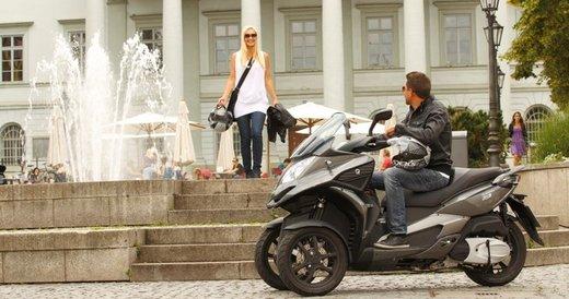 Scooter tre ruote Quadro 350 S al Motor Bike Expo 2013 - Foto 1 di 6