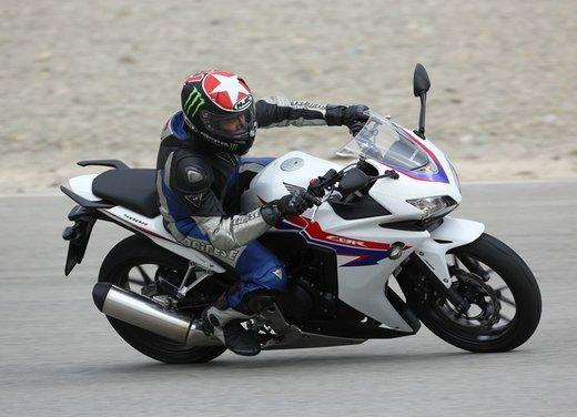 Honda CB 500 F e Honda CBR 500 R test ride