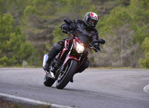 Honda CB 500 F e Honda CBR 500 R test ride - Foto 12 di 21