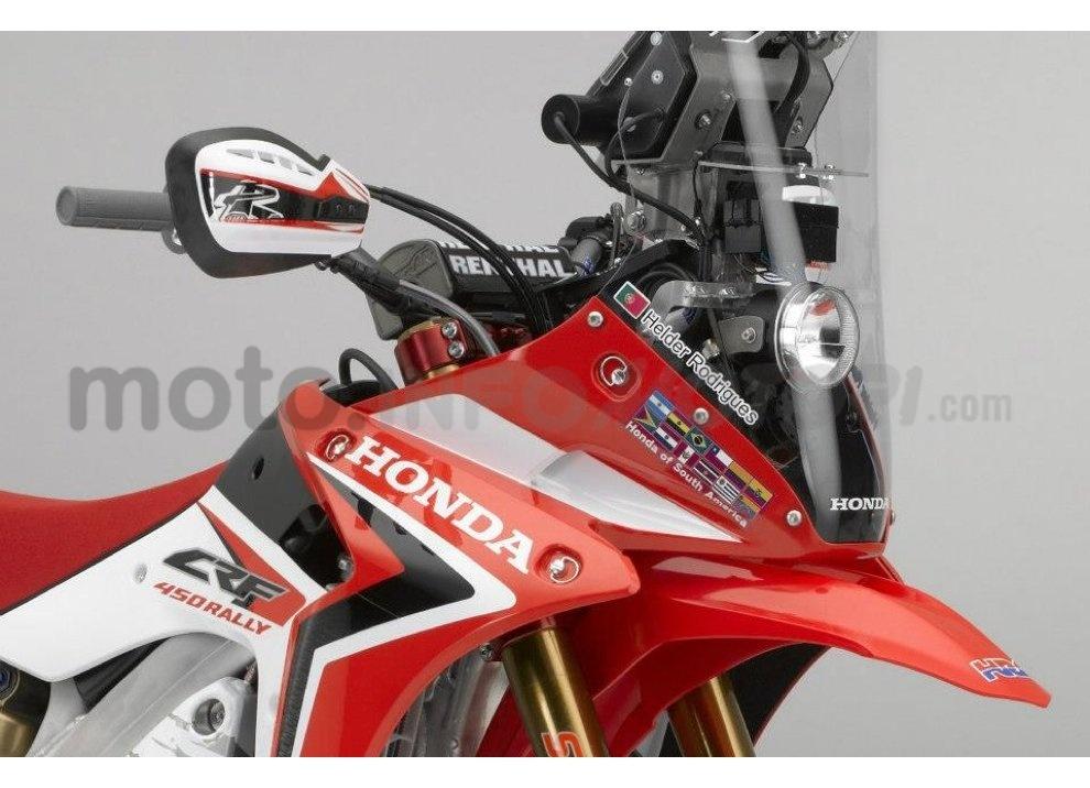 Honda CRF 250 Rally, bella e possibile - Foto 4 di 7