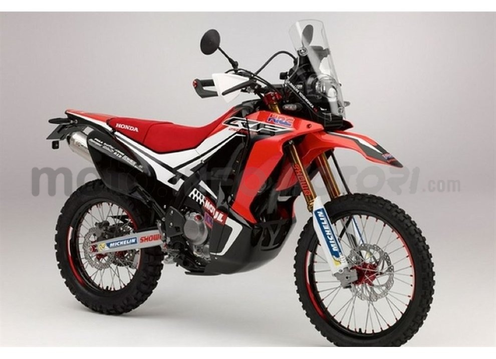 Honda CRF 250 Rally, bella e possibile