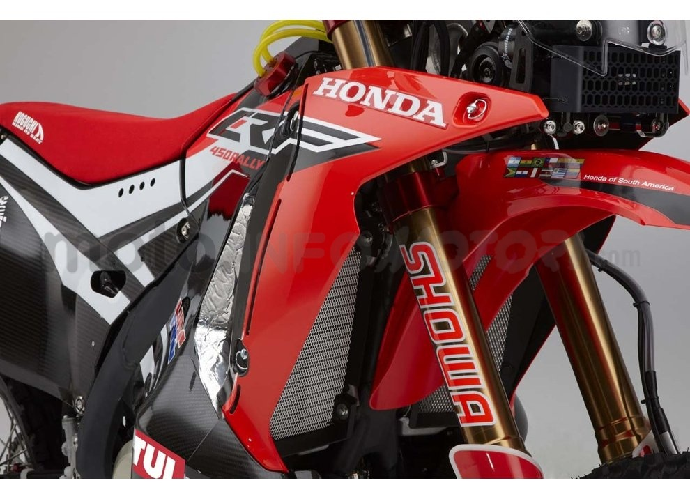 Honda CRF 250 Rally, bella e possibile - Foto 6 di 7