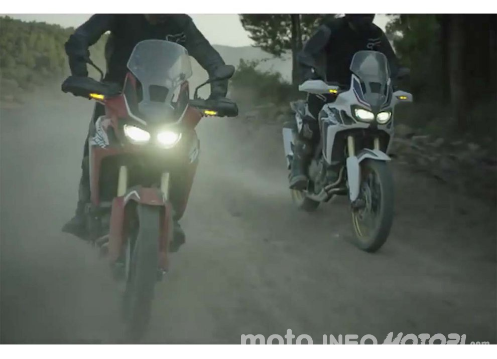 Honda CRF 1000L Africa Twin: guess who's back! [video]