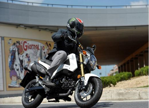 Honda MSX 125 test ride