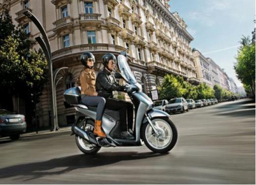 Honda SH 150i ABS, bestseller con consumi record