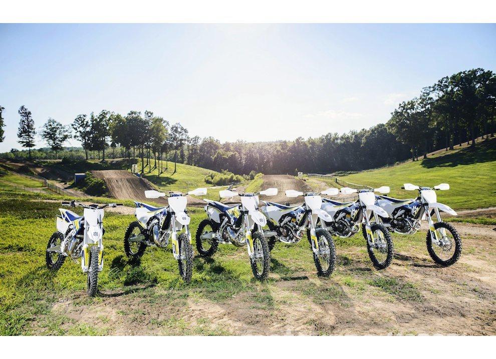 Husqvarna motocross m.y. 2016: Caratteristiche, dotazioni e prezzi di FE e TC