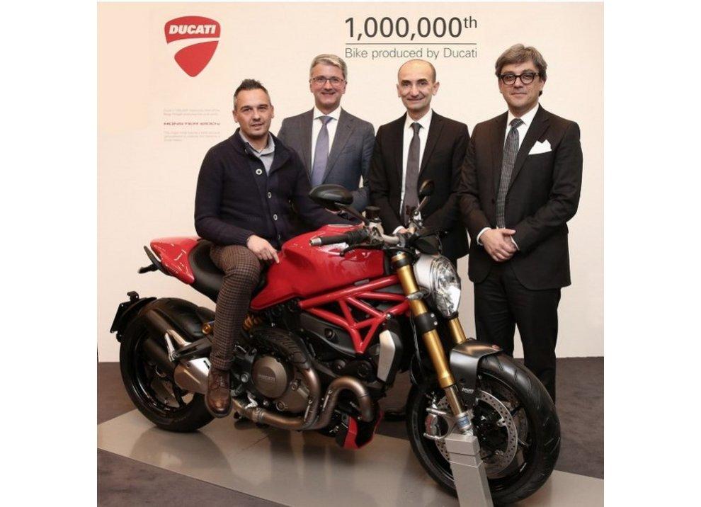 Ducati Monster 1200S la milionesima Ducati prodotta