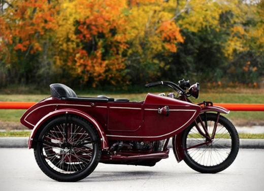 Indian Big Chief Sidecar del 1923 di Steve McQueen in vendita all'asta - Foto 2 di 9