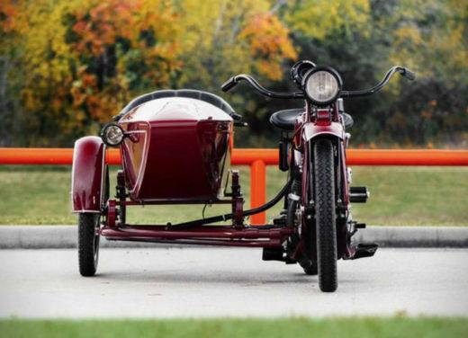 Indian Big Chief Sidecar del 1923 di Steve McQueen in vendita all'asta - Foto 3 di 9