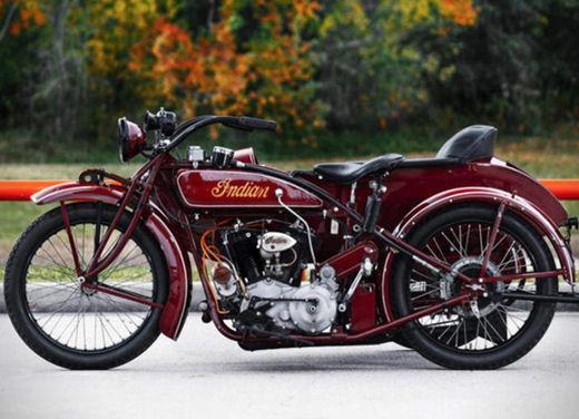 Indian Big Chief Sidecar del 1923 di Steve McQueen in vendita all'asta - Foto 4 di 9