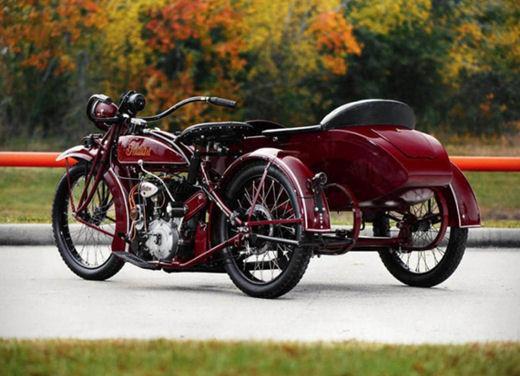 Indian Big Chief Sidecar del 1923 di Steve McQueen in vendita all'asta - Foto 5 di 9
