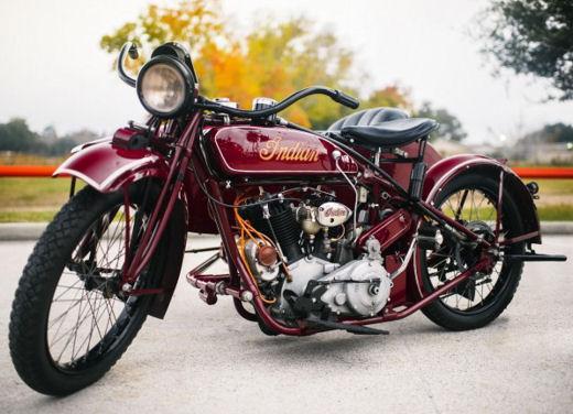 Indian Big Chief Sidecar del 1923 di Steve McQueen in vendita all'asta - Foto 1 di 9
