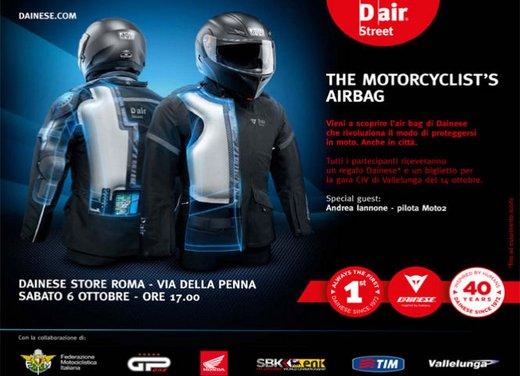 Dainese ha presentato la prima giacca con airbag ad attivazione elettronica - Foto 7 di 14