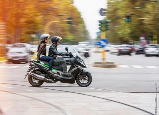 Kawasaki J300: bauletto e 4 anni di garanzia - Foto 5 di 10