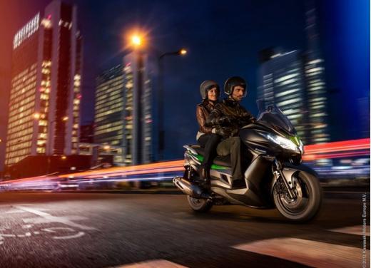 Kawasaki J300: bauletto e 4 anni di garanzia - Foto 7 di 10