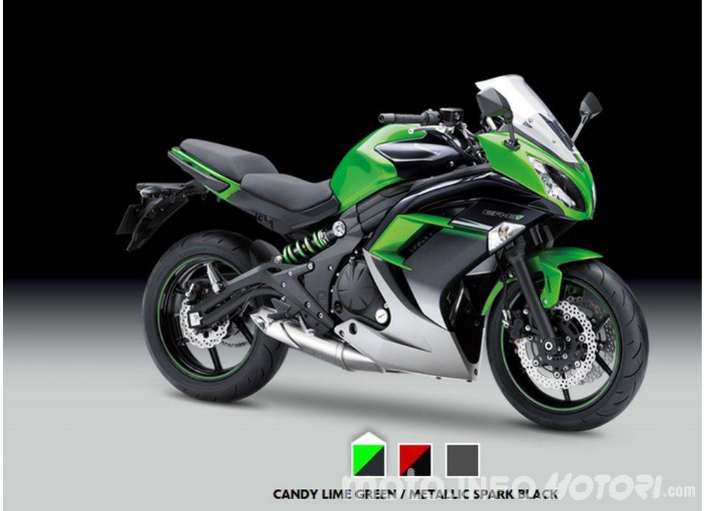 Kawasaki serie ER, nuovi colori per Versys 650 e Vulcan S