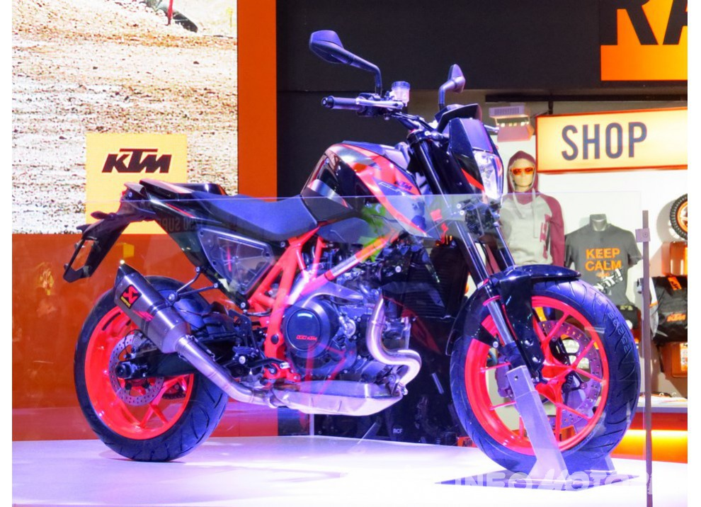 KTM 690 Duke 2016: The rage of the machine