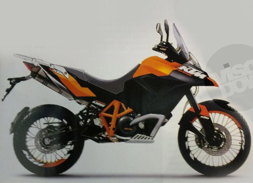 KTM Adventure: teaser non ufficiale della nuova maxi tourer KTM