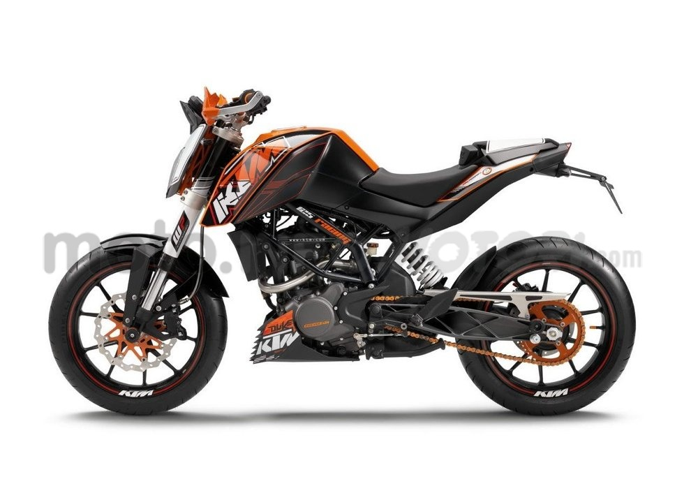 KTM Summer Duke, PowerParts in regalo - Foto 6 di 10