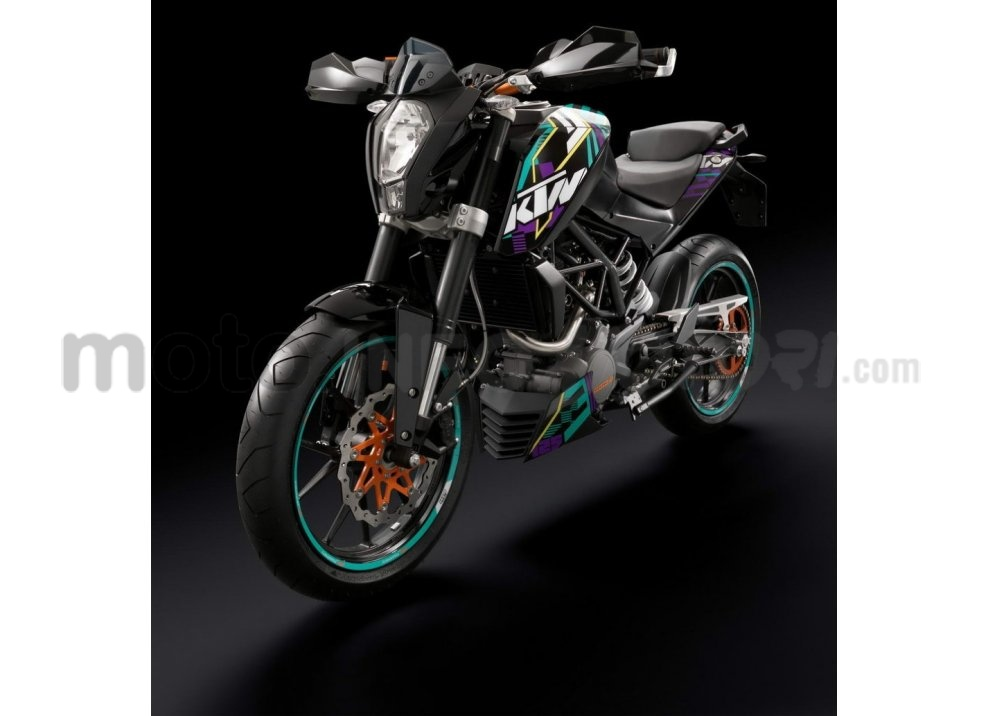 KTM Summer Duke, PowerParts in regalo - Foto 7 di 10