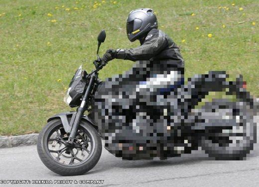 Honda prepara una naked bicilindrica 700 di cilindrata
