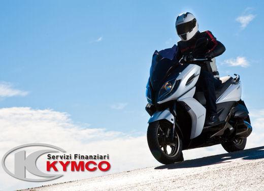 Kymco K-XCT 300i e K-XCT 125i in offerta con finanziamento a interessi zero