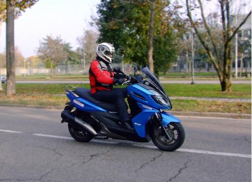 Kymco K-XCT 300i: prova su strada