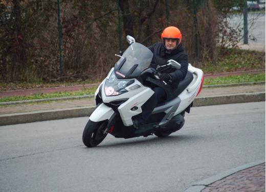 Kymco MyRoad 700i: prova su strada
