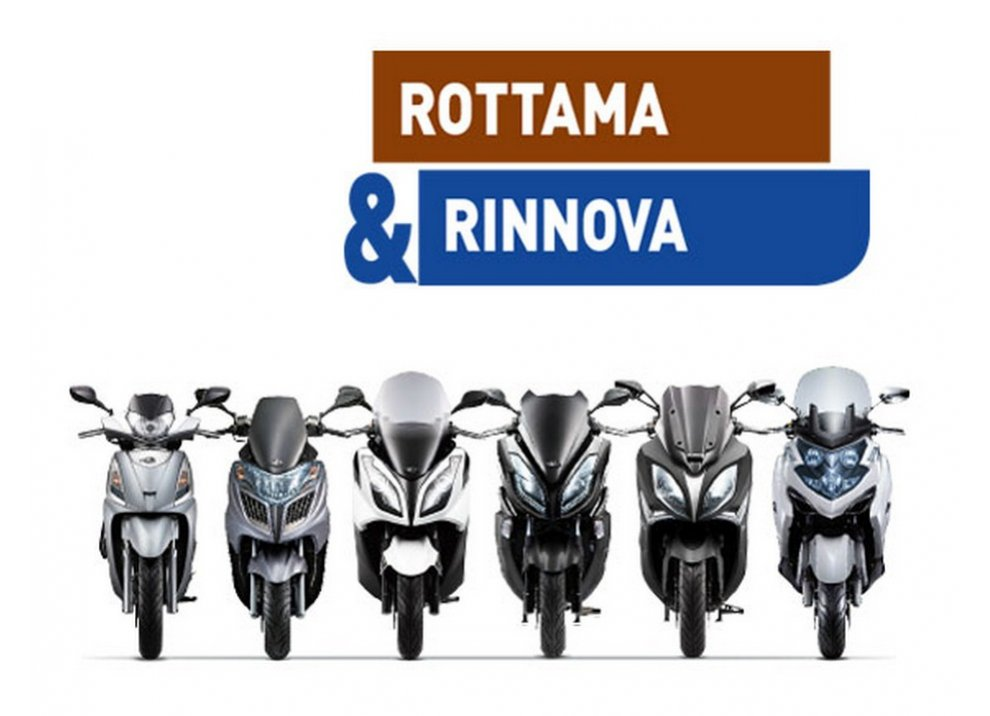 """Kymco propone l'offerta """"Rottama&Rinnova"""", anche con finanziamento - Foto 2 di 5"""