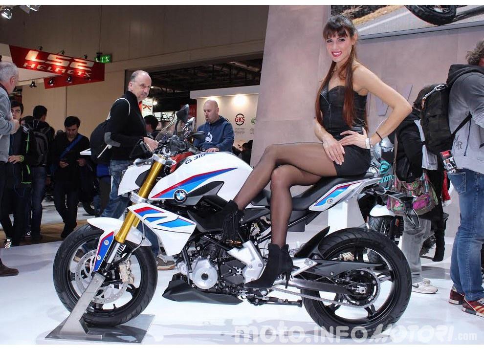 La BMW G 310 R ad EICMA 2015