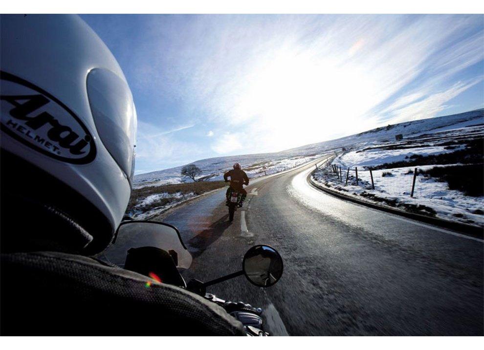 La moto in inverno: la lascio in garage o no?