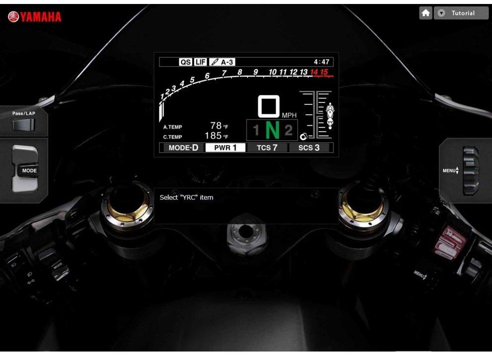 La nuova Yamaha R1 si fa scoprire da casa