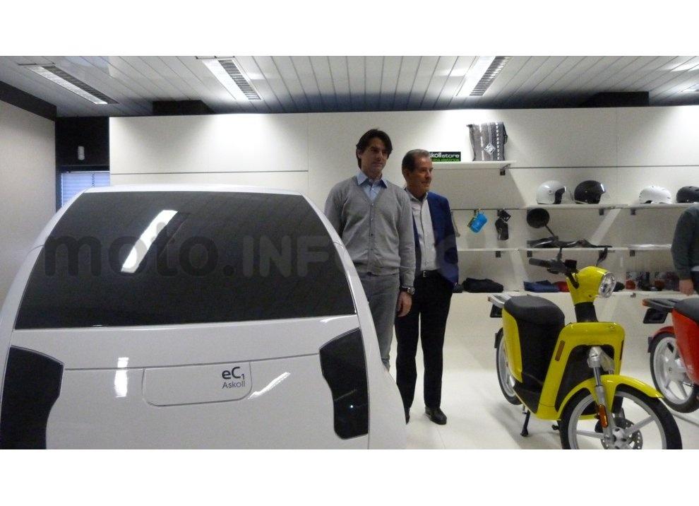 Lo scooter elettrico tutto italiano nasce a Vicenza grazie ad Askoll - Foto 38 di 48