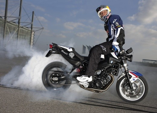 BMW F 800 R Chris Pfeiffer