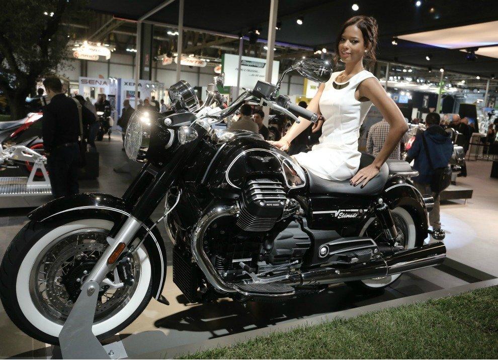 Moto Guzzi Eldorado informazioni ufficiali - Foto 1 di 2