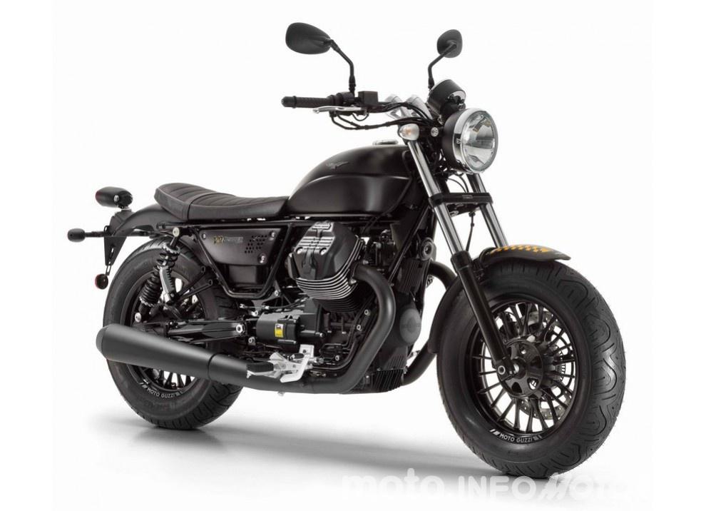 Moto Guzzi V9 Bobber 2016 celebra il 95° anniversario della casa