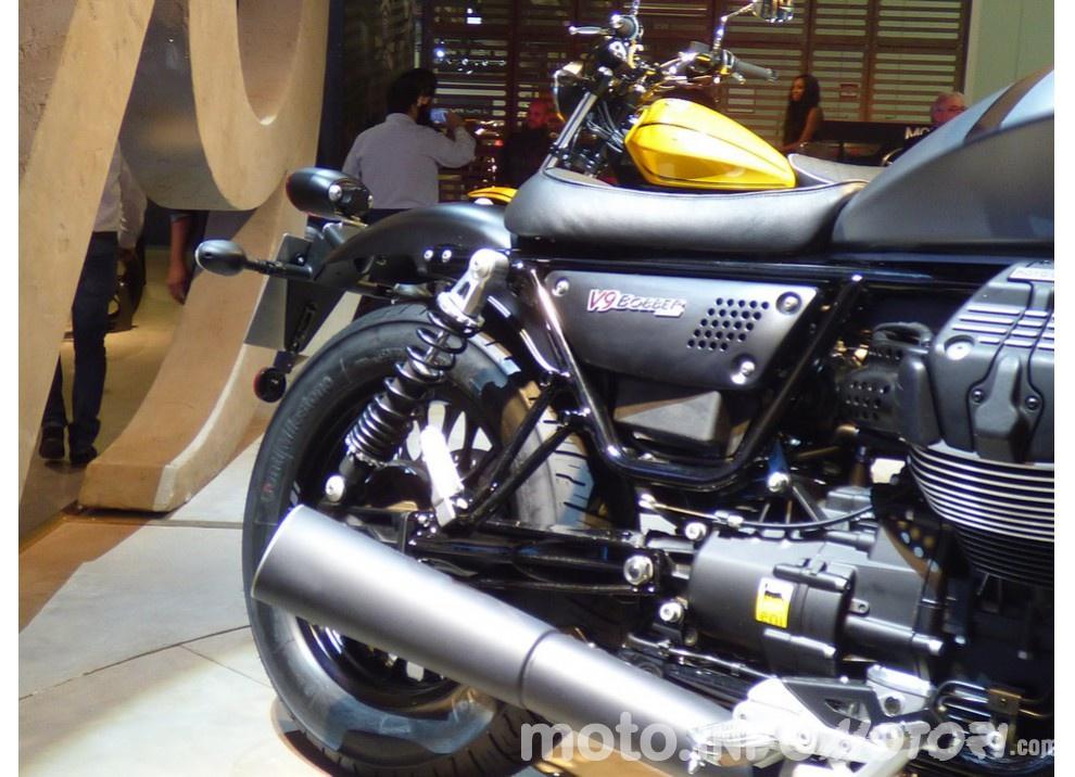 Moto Guzzi V9 Bobber e V9 Roamer 2016 - Foto 9 di 50