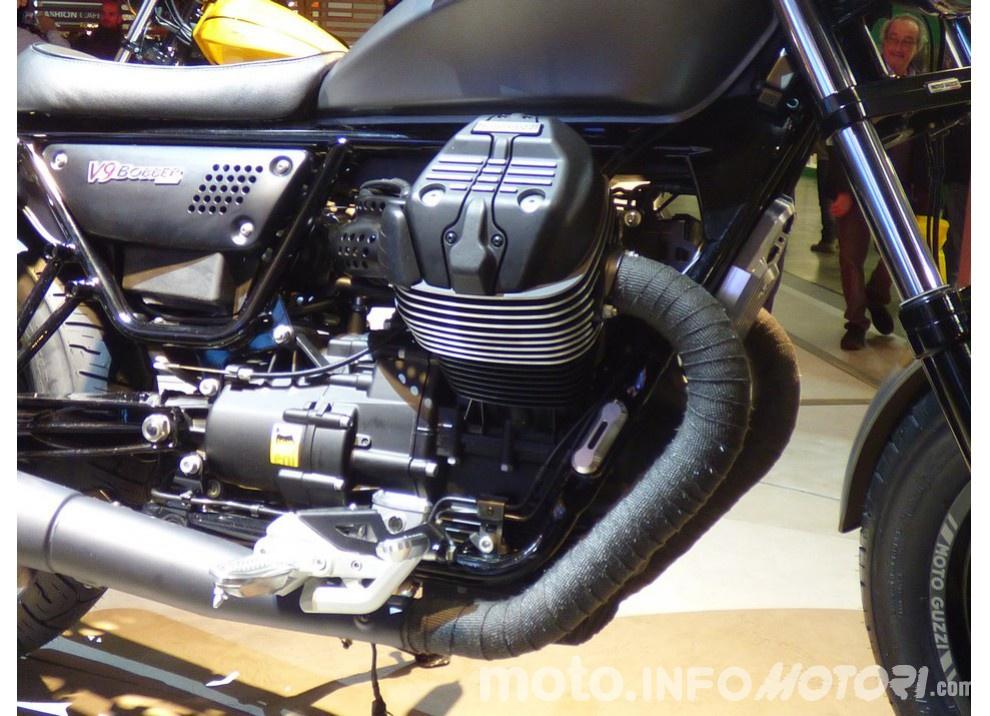 Moto Guzzi V9 Bobber e V9 Roamer 2016 - Foto 13 di 50