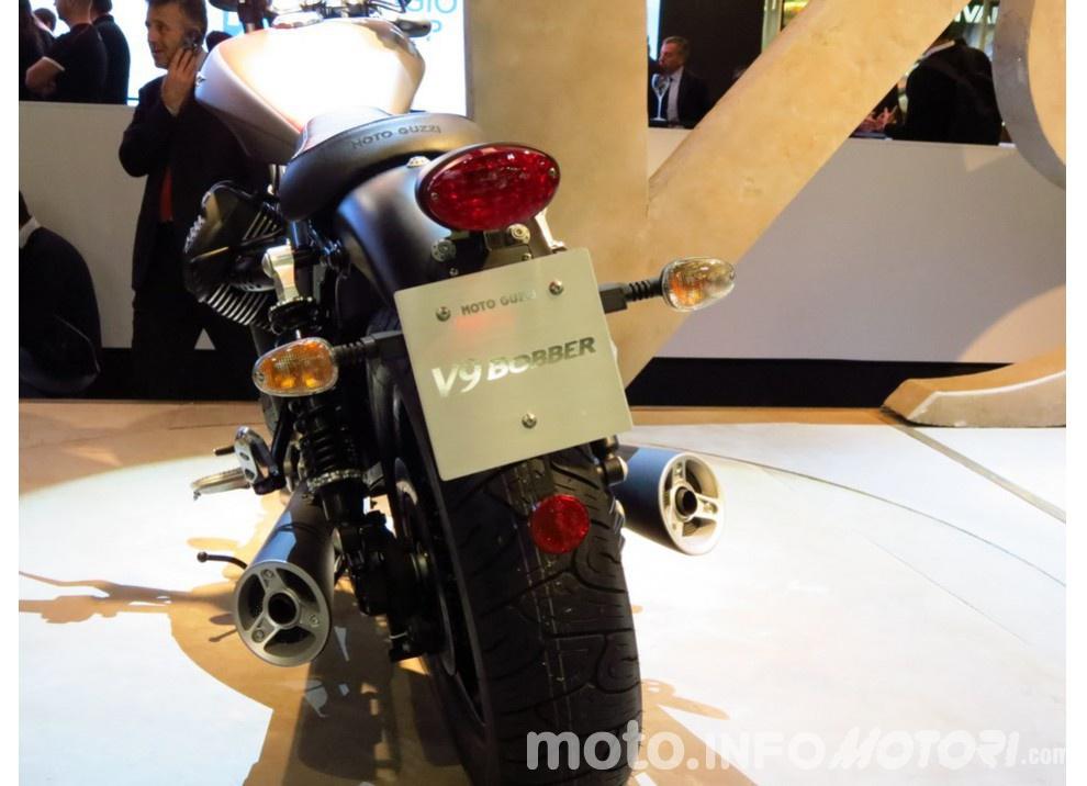 Moto Guzzi V9 Bobber e V9 Roamer 2016 - Foto 47 di 50