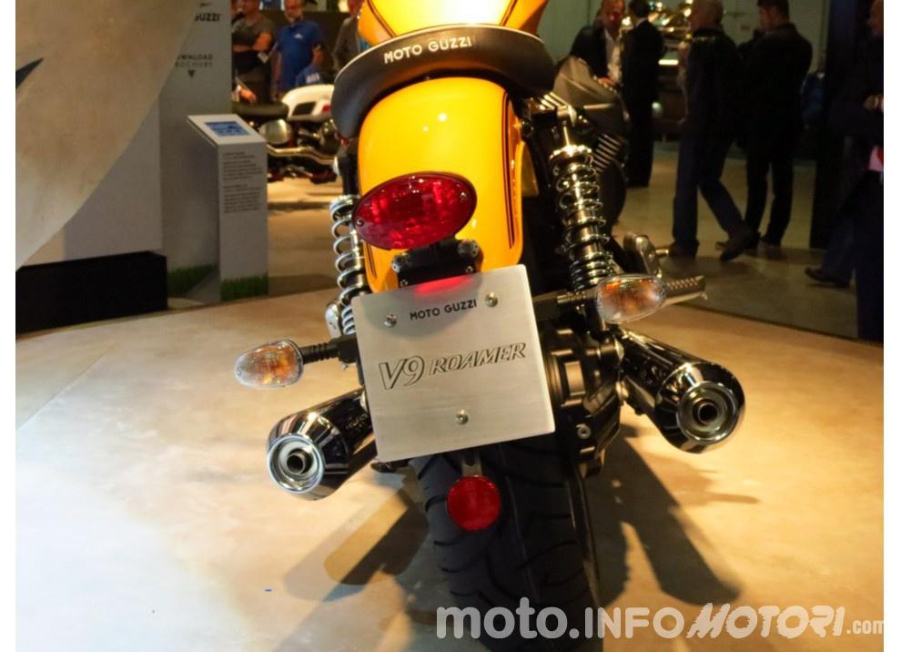 Moto Guzzi V9 Bobber e V9 Roamer 2016 - Foto 50 di 50