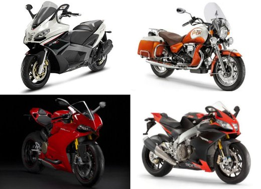Motodays 2012: novità da Ducati, Piaggio, Aprilia, Moto Guzzi - Foto 16 di 17