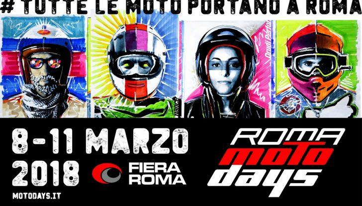 Motodays 2018: le novità del salone di Roma - Foto 2 di 10