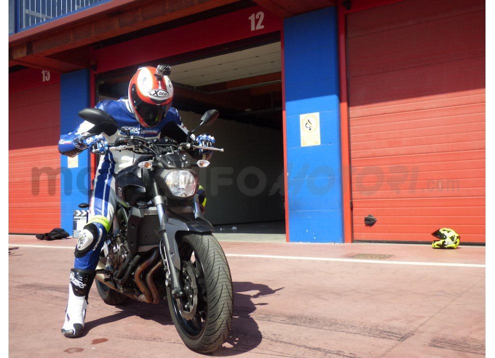 MT-07: test ride e recensione, su strada ed in pista