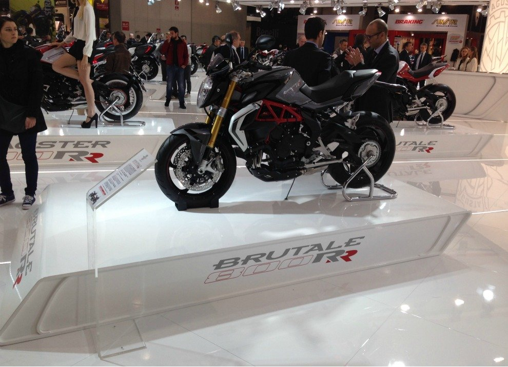 MV Agusta vince il premio Design of the Year al Bike India Awards - Foto 1 di 15