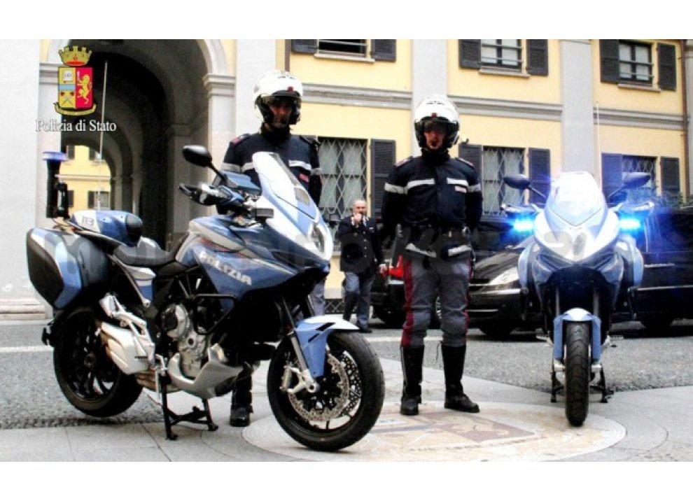 MV Agusta Turismo Veloce alla Polizia di Stato per Expo 2015