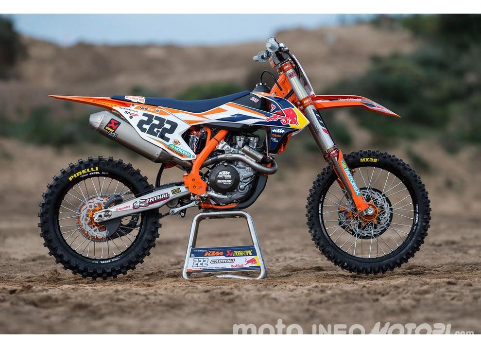 MXGP: Cairoli ha firmato con KTM fino al 2018