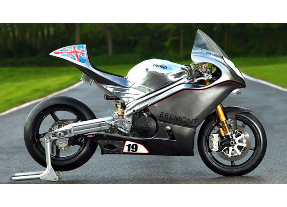 Norton annuncia una sportiva 650cc bicilindrica ed un V4 da 200CV